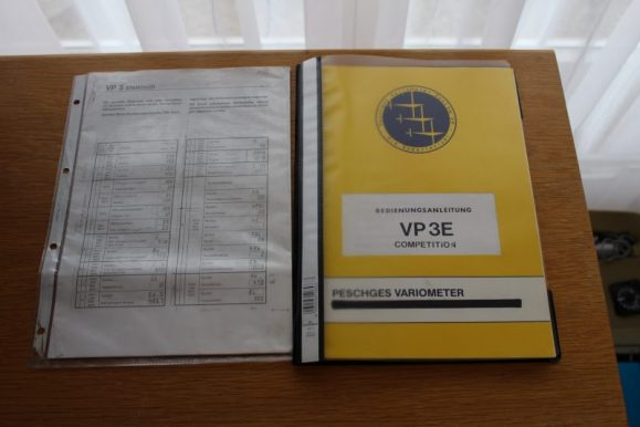 Betriebsanleitung Peschges VP 3 Variometer-System