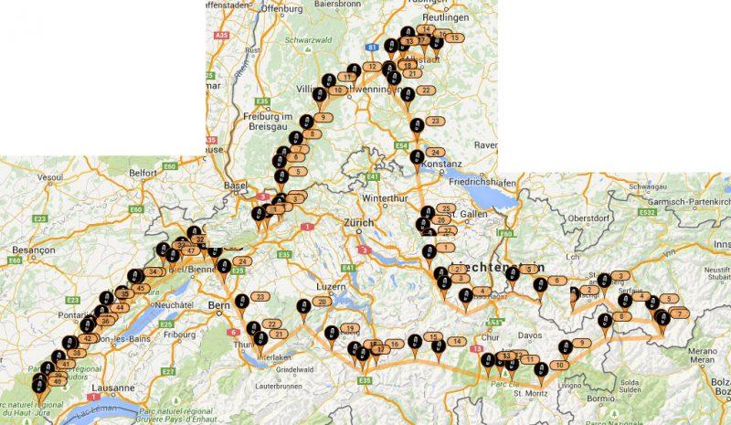 Reiseroute_Wandersegelflug_2015