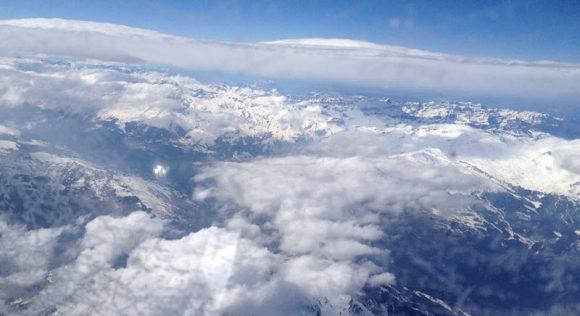 Im Föhn vom Arlberg an den Mont Blanc.