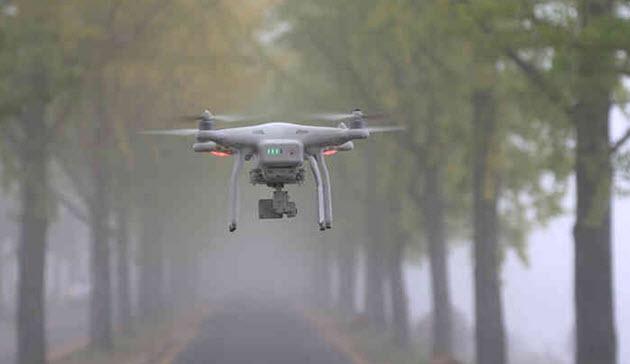 Zivile Drohnen für die Luftfahrt keine Gefahr.