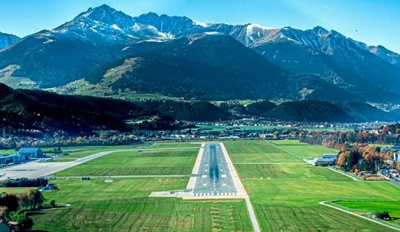 Darum ist der Innsbrucker Anflug spektakulär