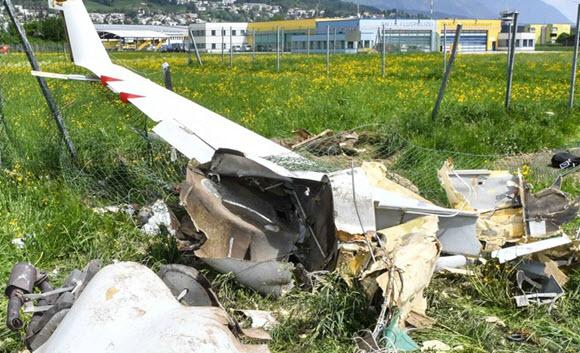 Überladung und Föhn schuld an Flugzeugabsturz