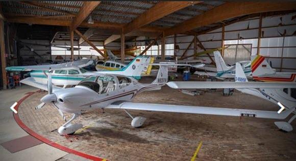 Neuer Hangar für Michelstädter Flugplatz Waldhorn
