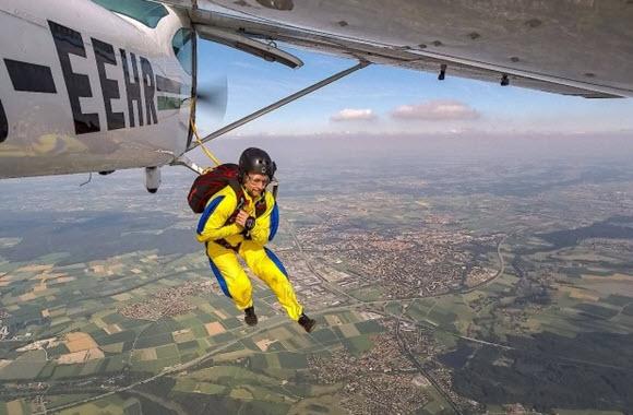Wenn der Pilot selbst abspringt