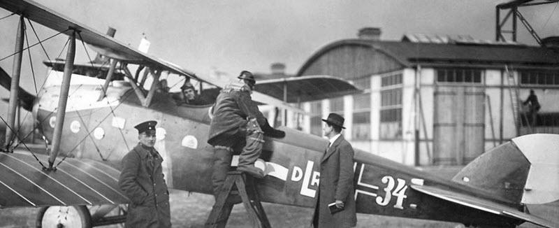Ziviler Luftverkehr begann in Johannisthal