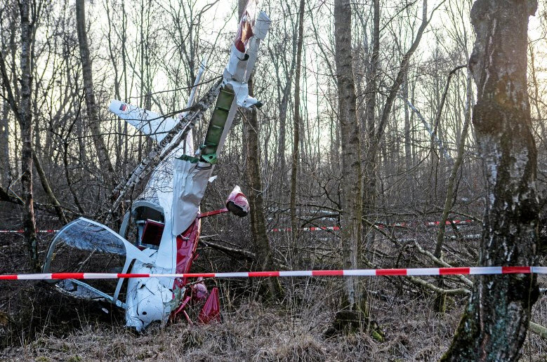 Flugzeugabsturz überlebt