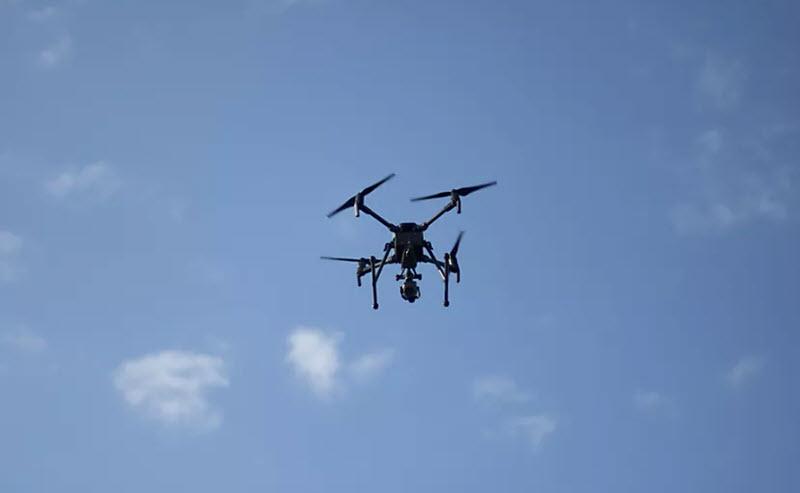 Drohne knapp verfehlt