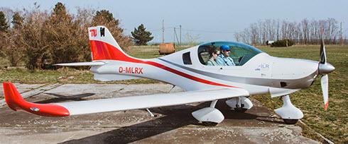 TU-Studenten lernen wieder an eigenem Flugzeug