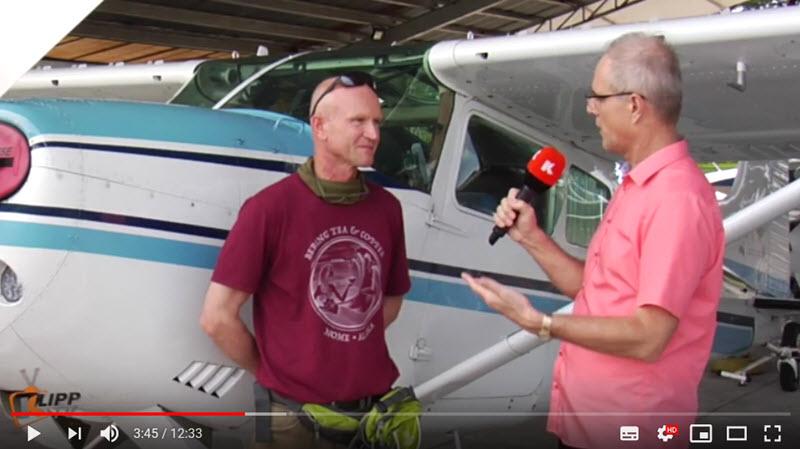 Aachener umrundet Erde mit Kleinflugzeug