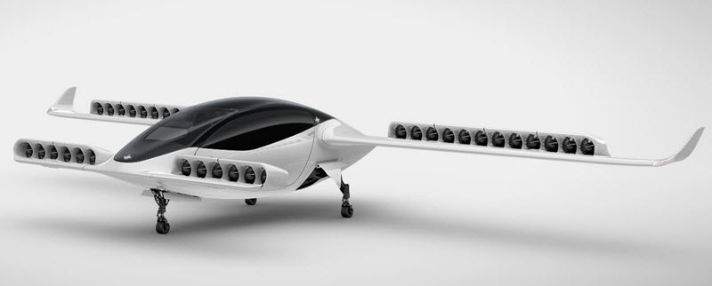 Elektro-Flugtaxi hebt erstmals ab