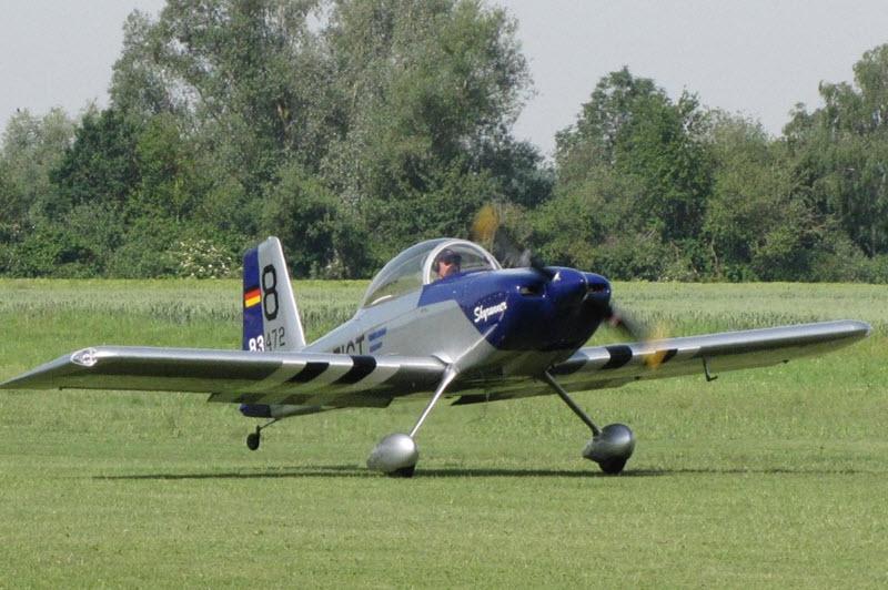 Mit selbst gebautem Flugzeug über den Atlantik