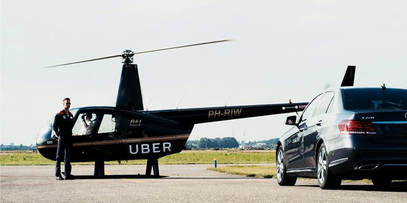 Ubercopter verbindet Straße mit Luftraum