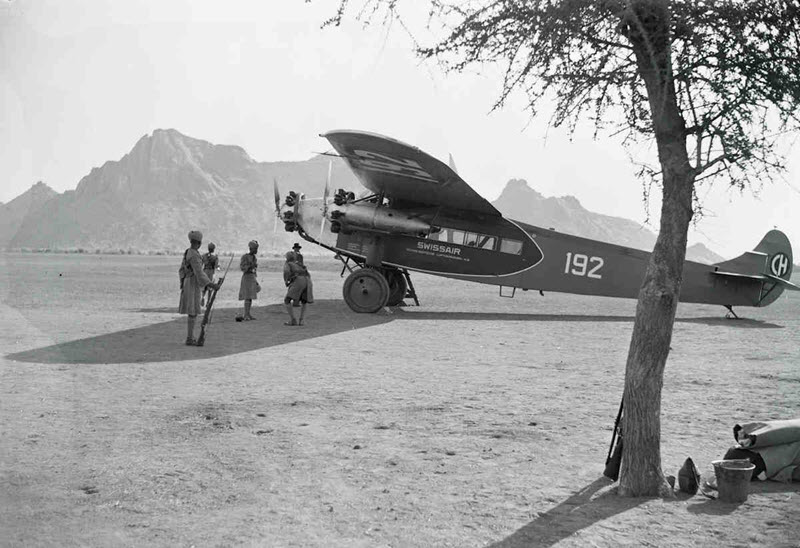 Walter Mittelholzer – Der fliegende Fotograf