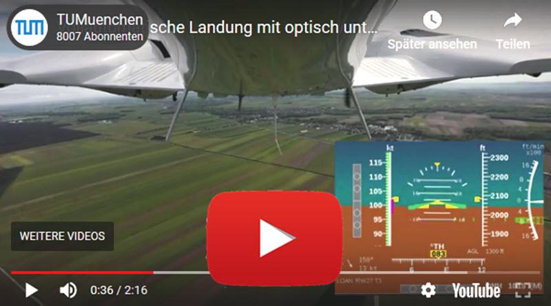 """""""Sehender"""" Autopilot landet erstmals Flieger"""