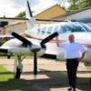 Flugzeug-Exoten über dem Ammerland