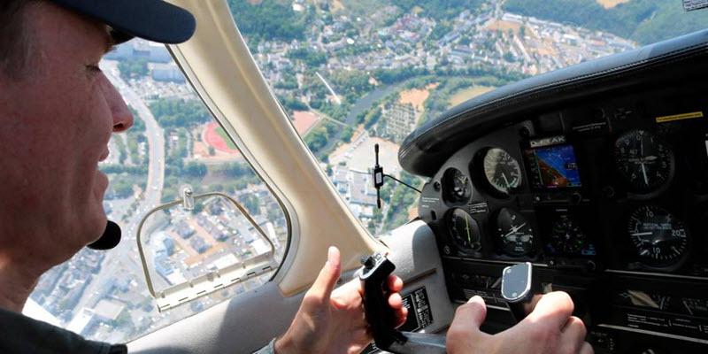 Ferienspielkinder fliegen über Wetzlar