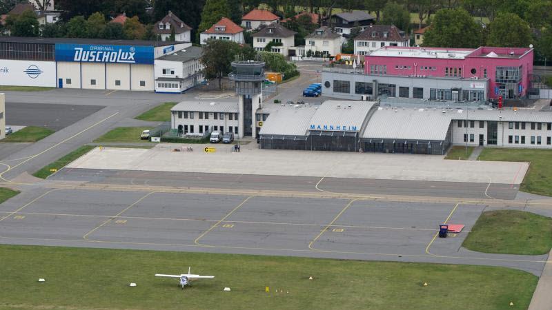 Piloten kritisieren Airport Mannheim