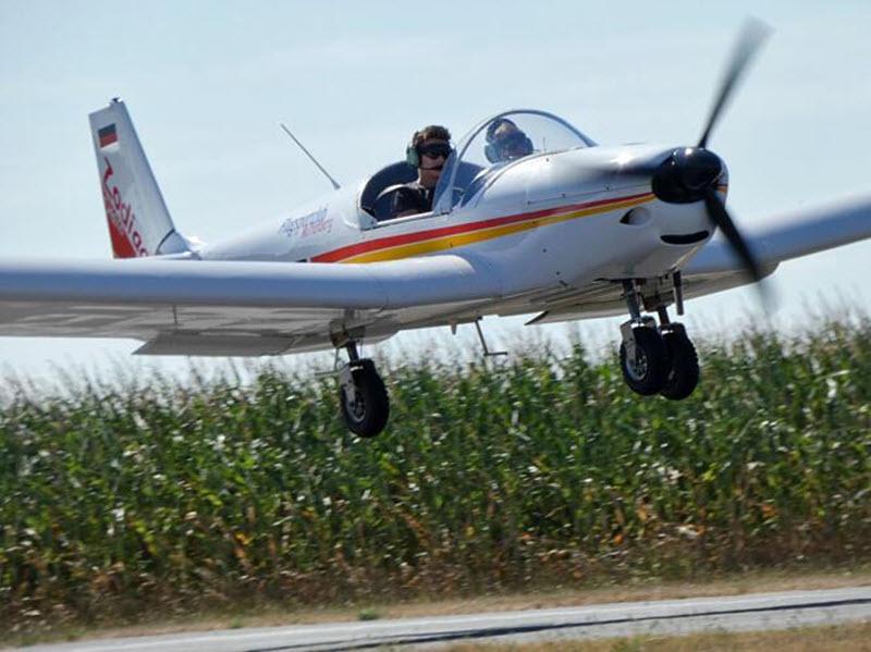 Pilot für einen Tag