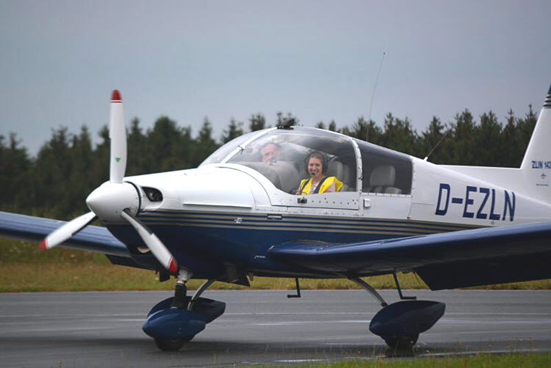 Sixpack im Cockpit?