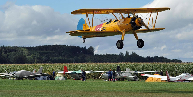 Tannheimer Flugplatz: Aktionstag