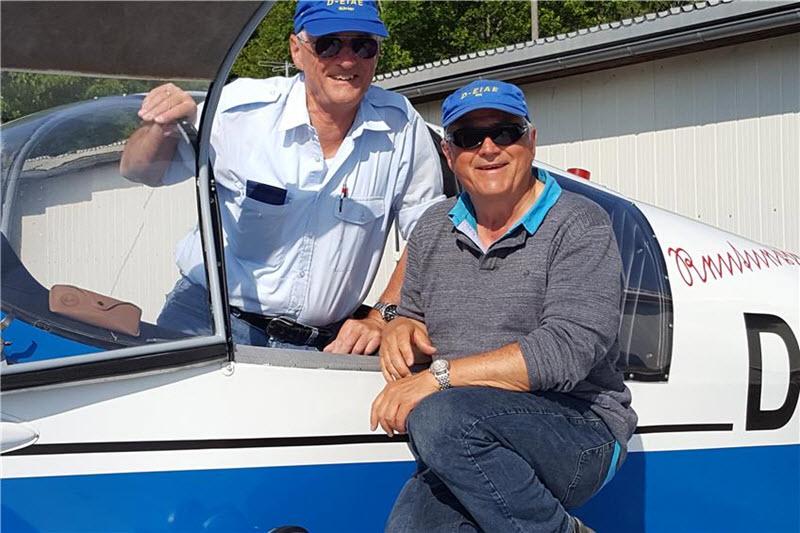 Freizeit-Piloten fliegen von Albstadt ans Nordkap
