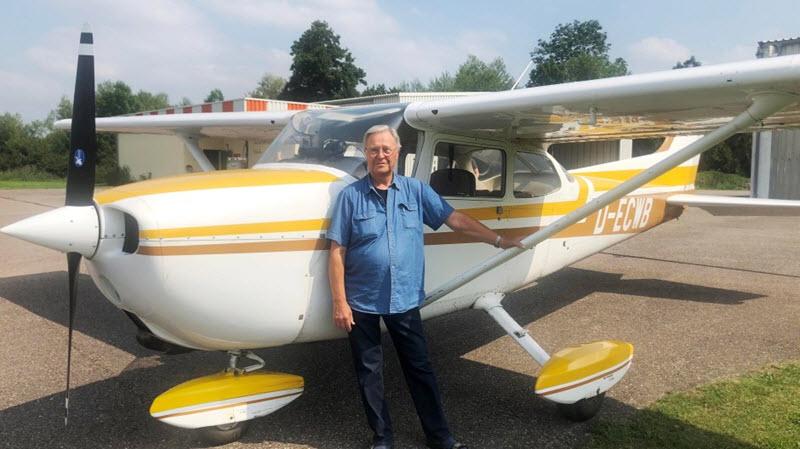 Cessna 172 macht 25'000 Landungen