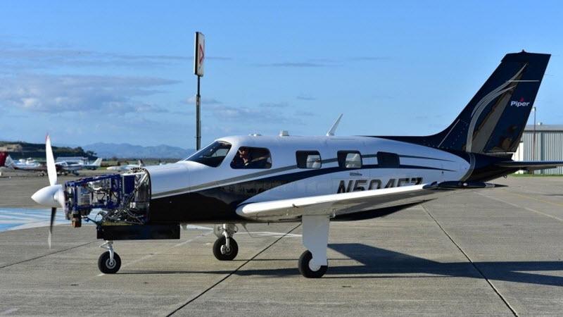 Brennstoffzellenflugzeug mit 800 km Reichweite