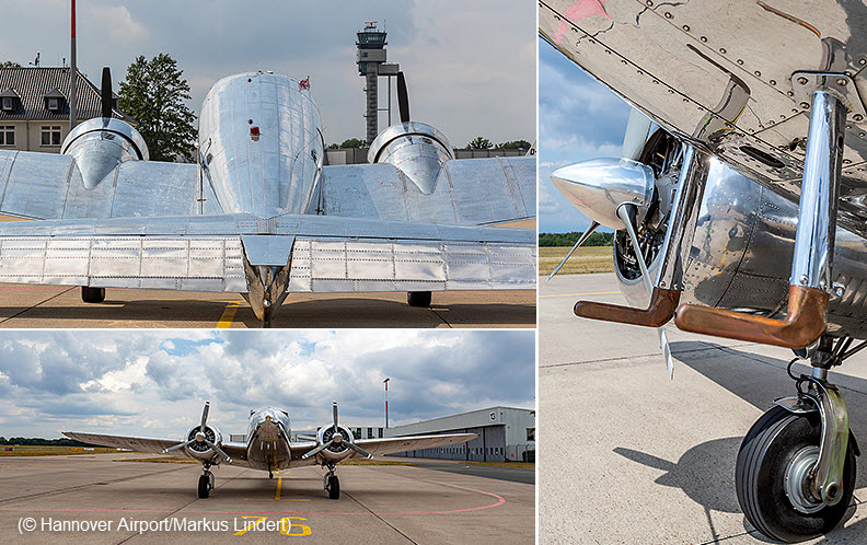 Lockheed Electra in Hannover