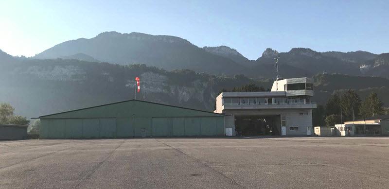 Flugplatz Hohenems: spektakulärer Einbruch
