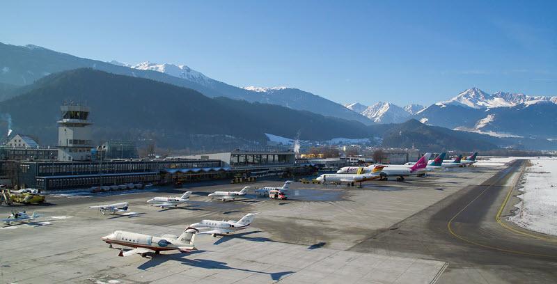 Flughafen Innsbruck plant Öko-Gebühr für Landungen