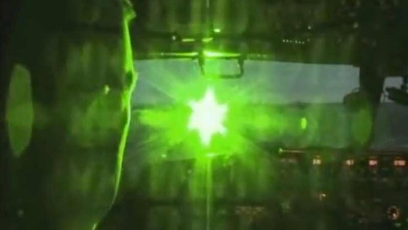 Gefährliche Laser-Attacke in 5'000 m.ü.M.