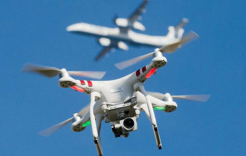 Fluginformations-Managementsystem für Drohnen