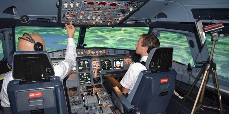 Eye Tracking – messen, wohin Piloten blicken