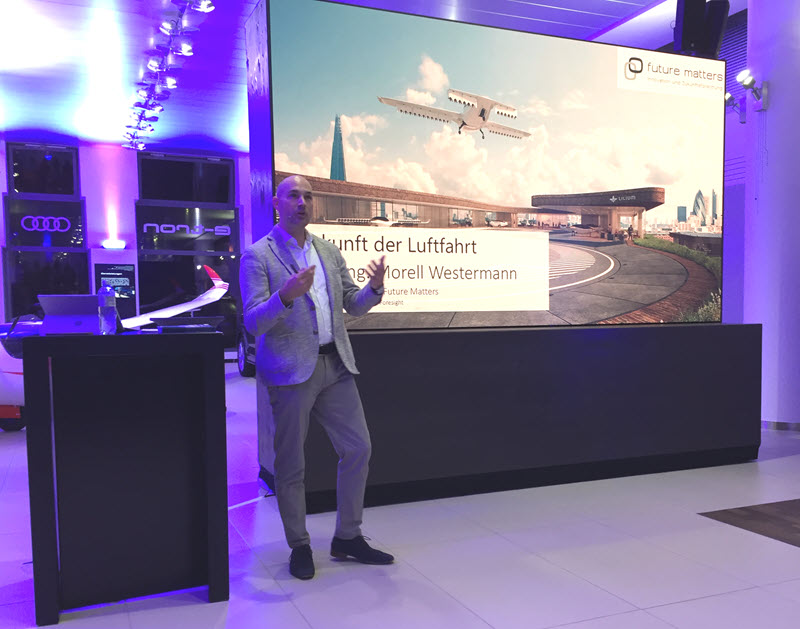 Elektromobilität, die Zukunft der Luftfahrt