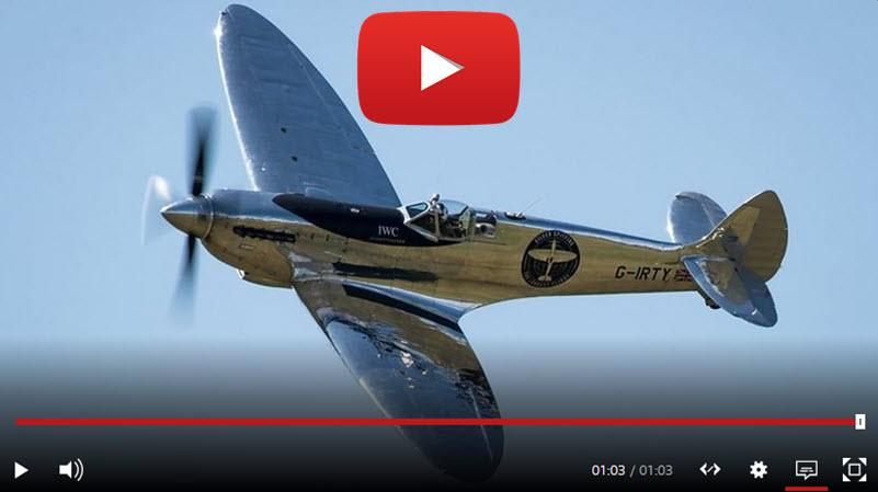 Spitfire pilots return to Goodwood