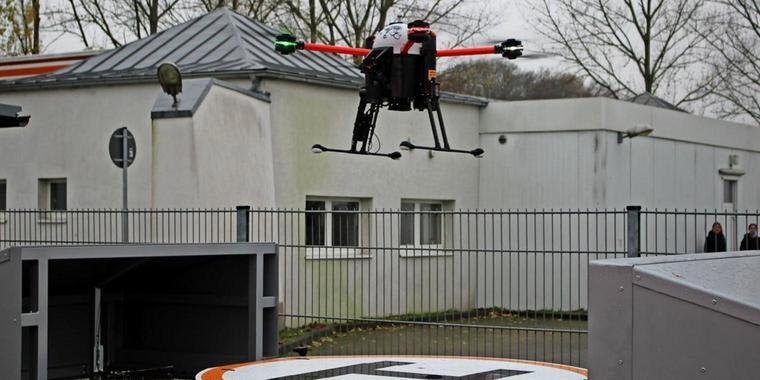 Uniklinik Greifswald: Drohnen sollen Leben retten
