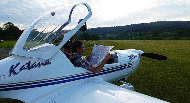 Mit dem Motorflieger von Altdorf nach Marokko