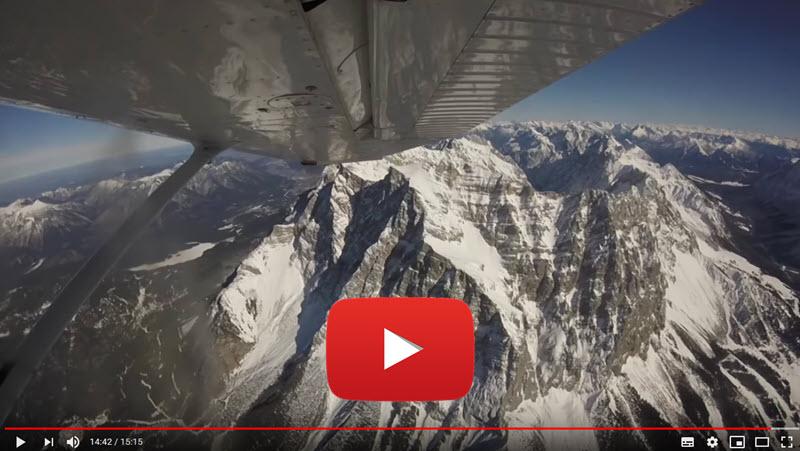 Über die Zugspitze nach Innsbruck