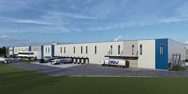 Lahr: Logistiker DSV erweitert Fläche
