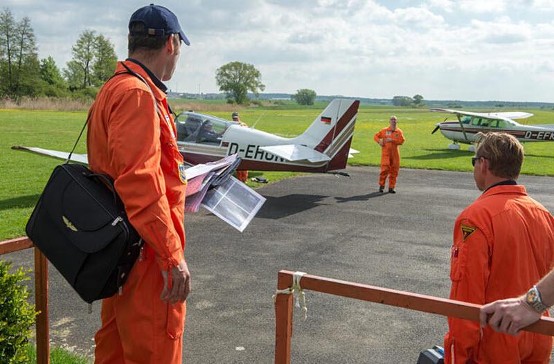 Waldbrandgefahr: Luftbeobachter starten