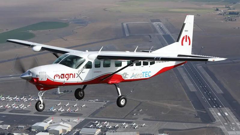 Elektroflugzeug-Neunplätzer absolviert Jungfernflug