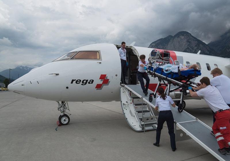 Mitgliedervortrag «Einsätze der Rega-Ambulanz-Jets»