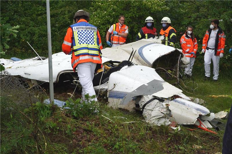 Flugzeugabsturz in Reinsfeld