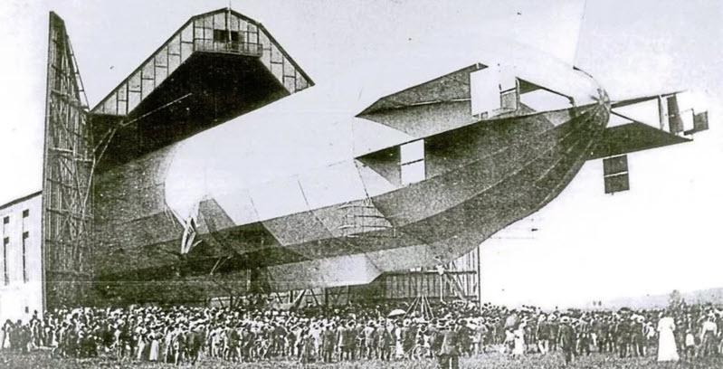 Vor 110 Jahren: erster Zeppelinflug für Passagiere in Baden-Baden