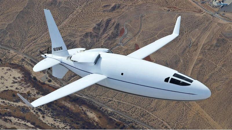 'Bullet plane' vorgestellt