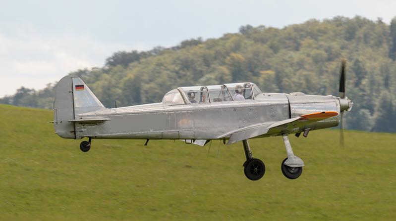 Heringsdorf: Pilatus PC-2 abgestürzt