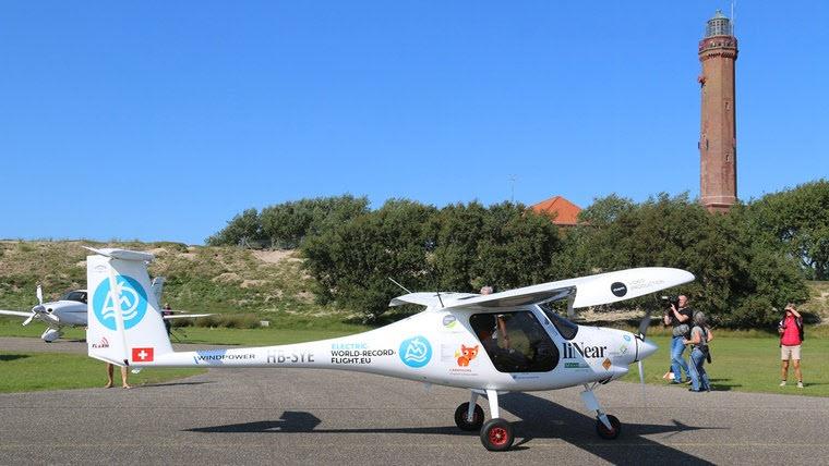 Elektroflieger erreicht Norderney