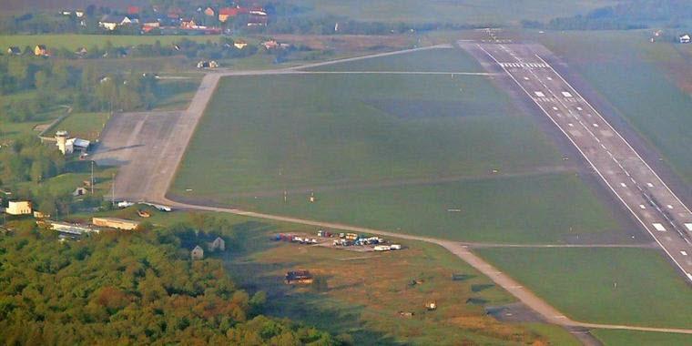 Diebe am Nobitzer Flugplatz