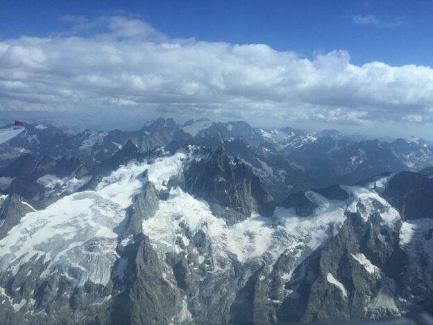 Blick ins Massif des Ecrins. Foto: Hans Reis.