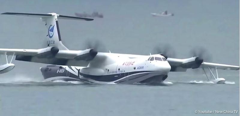 Rekord-Wasserflugzeug fertiggestellt